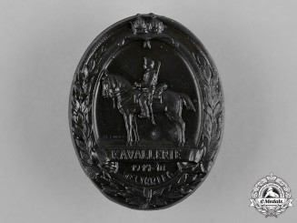 Austria-Hungary, Imperial. A First World War Cavalry Cap Badge, by M. Lotz
