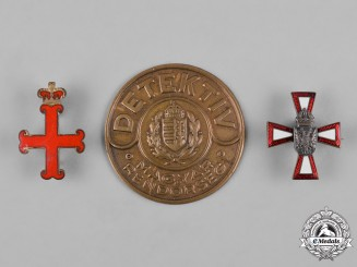 Hungary, Kingdom. Three Badges & Insignia
