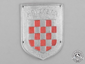 Croatia, Republic. An Italian-Croatian Legion Badge