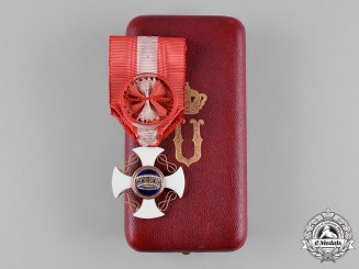 Italy, Kingdom. An Order of the Crown of Italy in Gold, Officer in Case, c. 1900