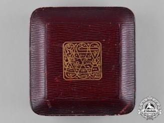 Zanzibar, British Protectorate. An  Order of the Brilliant Star of Zanzibar, I Class Grand Cross Star Case