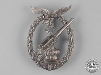 Germany, Luftwaffe. A Flak Badge, by C.E. Juncker