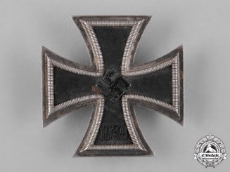 Germany, Wehrmacht. A 1939 Iron Cross I Class by Klein & Quenzer