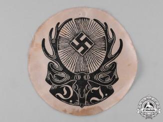 Germany, Deutsche Jägerschaft. A Deutsche Jägerschaft (German Hunting Society) Uniform Insignia