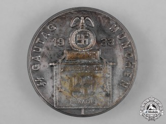 Germany, SS. A 1933 SS Day of the Gau Munich Badge