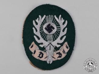 Germany, Deutsche Jägerschaft. A Deutsche Jägerschaft (German Hunting Society) Sleeve Insignia