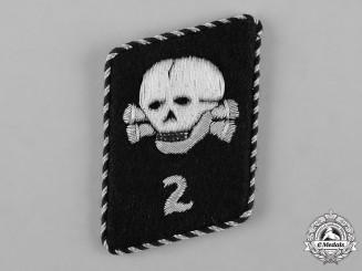 Germany, SS. A Single Death's Head League 2nd Storm Collar Tab