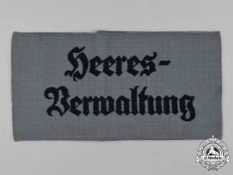 Germany, Heer. An Army Administration Armband