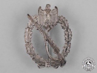 Germany, Heer. An Infantry Assault Badge, Silver Grade