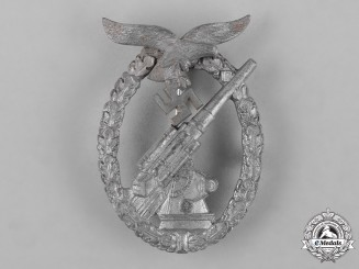 Germany, Luftwaffe. A Flak Badge, by E. Ferdinand Wiedmann