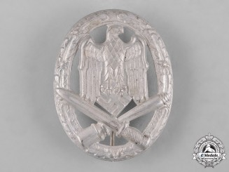 Germany, Wehrmacht. An Early & Mint General Assault Badge
