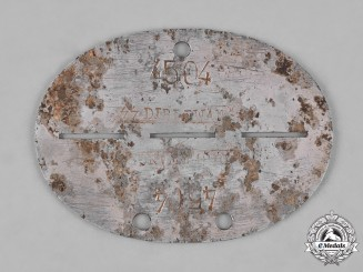 Germany, SS. A Dirlewanger Brigade Identification Tag
