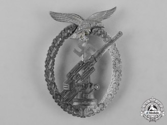 Germany, Luftwaffe. A Flak Badge