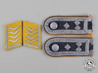 Germany, Luftwaffe. A Set of Luftwaffe Uniform Rank Insignia