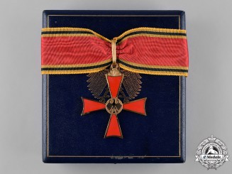 Germany, Federal Republic. A Cased Order of Merit of the Federal Republic of Germany by C.E. Juncker