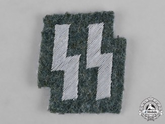 Germany, SS. An Ordnungspolizei (Order Police) SS Tunic Breast Insignia