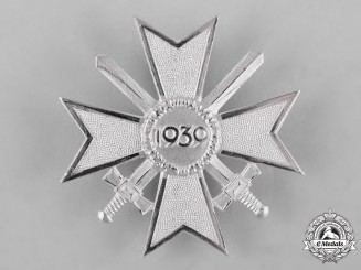Germany, Wehrmacht. A War Merit Cross, I Class with Swords, 1957 Issue