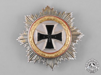 Germany, Wehrmacht. A German Cross in Gold, 1957 Issue