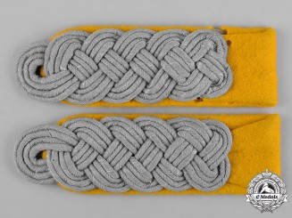 Germany, Heer. A Pair of Heer (Army) Reconnaissance Major Shoulder Boards