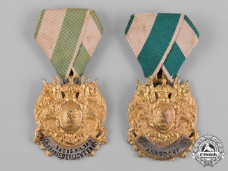 Germany, Imperial. A Pair of Imperial German Military Veterans Association Membership Badges