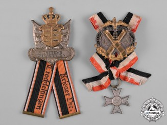 Germany, Imperial. A Pair of Veteran Regimental Awards