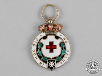 Spain, Kingdom. An Order of the Red Cross, II Class Medal c.1920