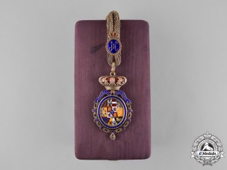 Spain, Democratic Monarchy. A Congress of Deputies Vice-president's Badge to Excmo. Sr. D. Modesto Fraile Poujade c.1982