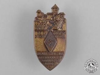 Germany, HJ. A HJ Schloß Burg 800 Year Anniversary Badge