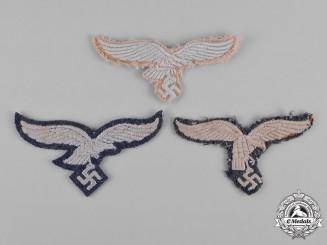 Germany, Luftwaffe. A Group of Uniform Eagle Insignia