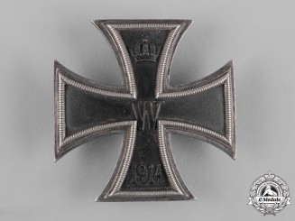 Germany, Imperial. A 1914 Iron Cross, I Class, Engraved Version