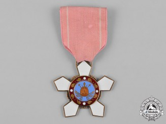 "Korea, Republic of South Korea. An Order of Military Merit, ""Hwarang"" IV Class Badge"