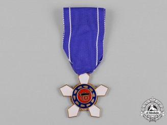 "Korea, Republic of South Korea. An Order of Military Merit, ""Inheon"" V Class Breast Badge"