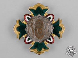 "Hungary, Kingdom. A League of Social Associations ""The Best of the Hungarian Society"" Badge"