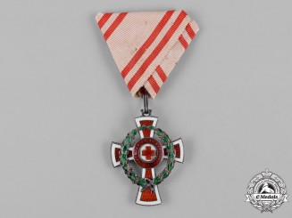 Austria, Imperial. A Decoration for Services to the Red Cross, c.1916