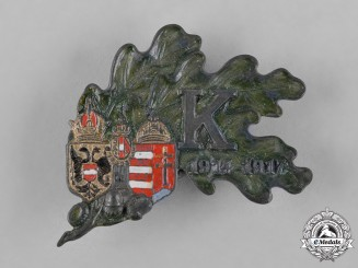 Austria, Imperial. A First War Period Austro-Hungarian Badge by Arkanzas