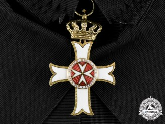 Austria, Imperial. A Sovereign Military Order of Malta, Order Pro Merito Melitensi, Grand Cross Badge, c.1920