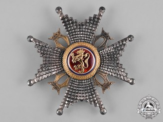 Norway, Kingdom. A Royal Order of St. Olav, Commander's Star, by I. Tostrup, c.1900