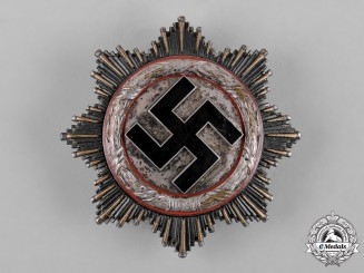 Germany, Wehrmacht. A German Cross in Silver, by C.F. Zimmermann