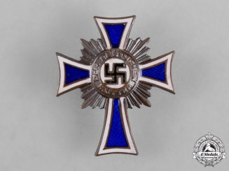 Germany, Third Reich. An Honour Cross of the German Mother, Bronze Grade Badge
