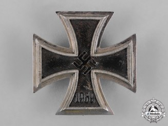 Germany, Wehrmacht. A 1939 Iron Cross I Class by Steinhauer & Lück