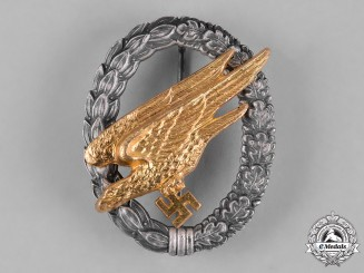 Germany, Luftwaffe. A Fallschirmjäger Badge