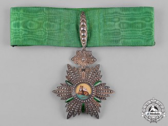 Iran, Pahlavi Empire. An Imperial Order of the Lion and the Sun, III Class Commander, c.1920