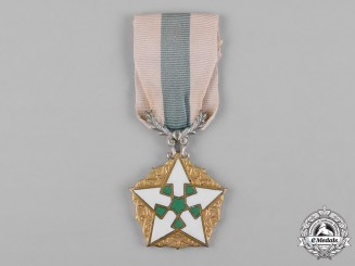 Syria, Republic. An Order of Civil Merit, IV Class