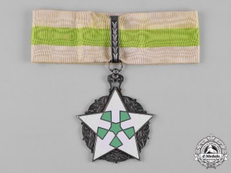 Syria, Republic. Order of Civil Merit, II Class