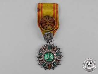 Tunisia, French Tunisia. An Order of Glory, IV Class Officer, c.1890