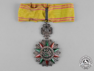 Tunisia, French Tunisia. An Order of Glory, III Class Commander, c.1925