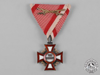 Austria, Imperial. A Military Merit Cross, III Class with War Clasp