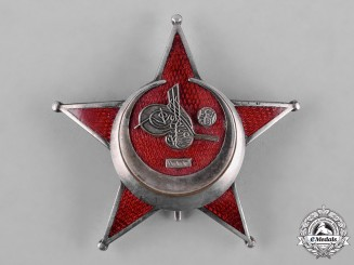 Turkey, Ottoman Empire. A First War War Medal, Galipoli Star