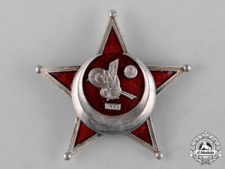 Turkey, Ottoman Empire. A First War War Medal, Galipoli Star, German Made