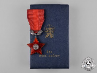 Czechoslovakia, Socialist Republic. An Order of the Red Star, c.1970